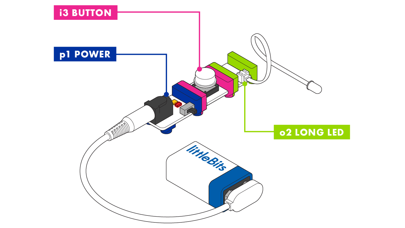 long led – littleBits